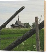 Farmstead Wood Print