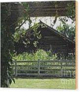 Farmyard Frame Wood Print