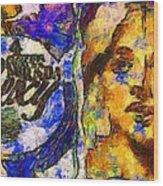 Fashion 342 Wood Print