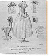 Fashion: Corset, C1850 Wood Print