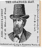 Fashion: Granger Hat Wood Print