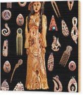 Fashion Jewellery Tour Wood Print