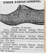 Fashion: Sneakers, 1895 Wood Print by Granger