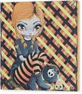 Fashionably Late Cherisse The Dress Ripper Wood Print