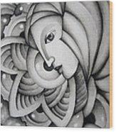 Fata Morgana Wood Print by Simona  Mereu
