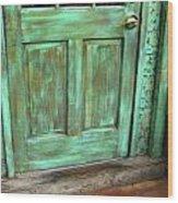 Faux Door Wood Print