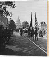 Fdr: Funeral, 1945 Wood Print
