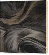 Feathers Wood Print