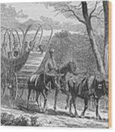 Federal Camp Contraband, 19th Century Wood Print