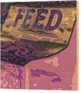 Feed Store 2 Wood Print