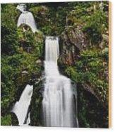 Feldberg Waterfall Wood Print