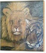 Felini Wood Print