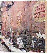 Fenghuang Street Wood Print