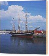 Fenit, Co Kerry, Ireland Famine Ship Wood Print