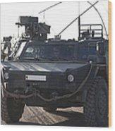 Fennek Armored Reconnaissancd Vehicles Wood Print