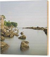 Feringghi Beach Wood Print