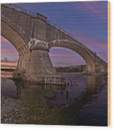 Fernbridge Dusk Wood Print
