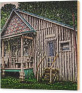 Ferndale Country Store Wood Print