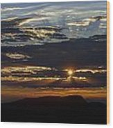 Fernley Sunrise 1 Wood Print