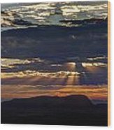 Fernley Sunrise 2 Wood Print