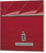 Ferrari Pininfarina Emblem 3 Wood Print