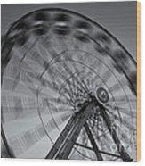 Ferris Wheel V Wood Print