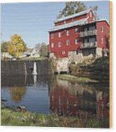 Fertile Mill Wood Print