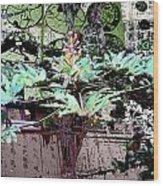 Feuilles Kyoto Wood Print