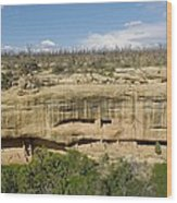 Fewkes Canyon Cliff Dwelling Wood Print