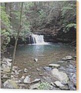 Fierry Gizzard Waterfall Wood Print