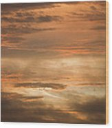 Fiery Atlantic Sunrise 2 Wood Print