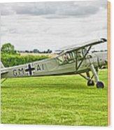 Fieseler Fi 156 Storch Wood Print