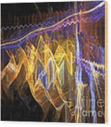 Fiesta - Abstract Art Wood Print