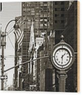Fifth Avenue Wood Print