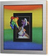 Figments Rainbow Of Colors Wood Print