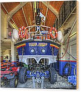 Filey Lifeboat Wood Print