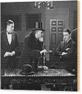 Film Still: Men Group Wood Print