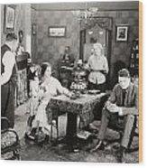 Film Still: Poorhouse Wood Print
