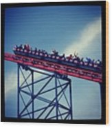 Final Destination: Blackpool Wood Print