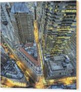 Financial District New York City Wood Print