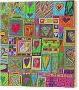 find U'r Love found    v15 Wood Print
