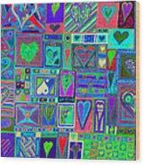 find U'r Love found    v13 Wood Print