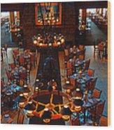 Fine Dining 2012 Wood Print