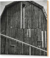 Finger Lakes Barn II Wood Print