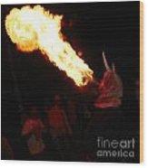 Fire Axe 2 Wood Print