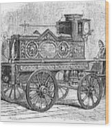 Fire Engine, 1862 Wood Print