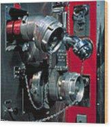Fire Engine Apparatus Wood Print