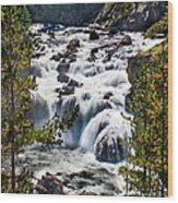 Firehole River IIi Wood Print