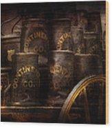 Fireman - Bucket Brigade  Wood Print