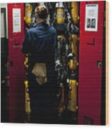 Fireman Stows A Self-contained Wood Print